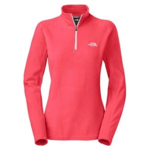 North Face quarter zip fleece pullover
